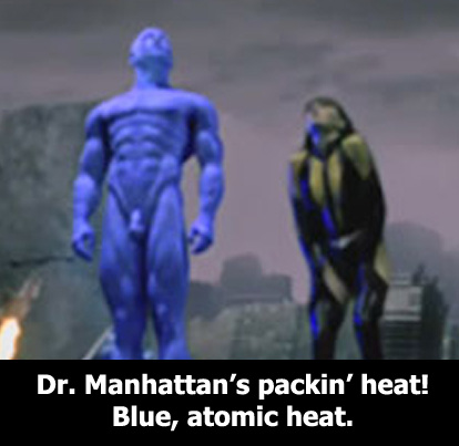 Dr Manhattan S Big Blue Penis 71