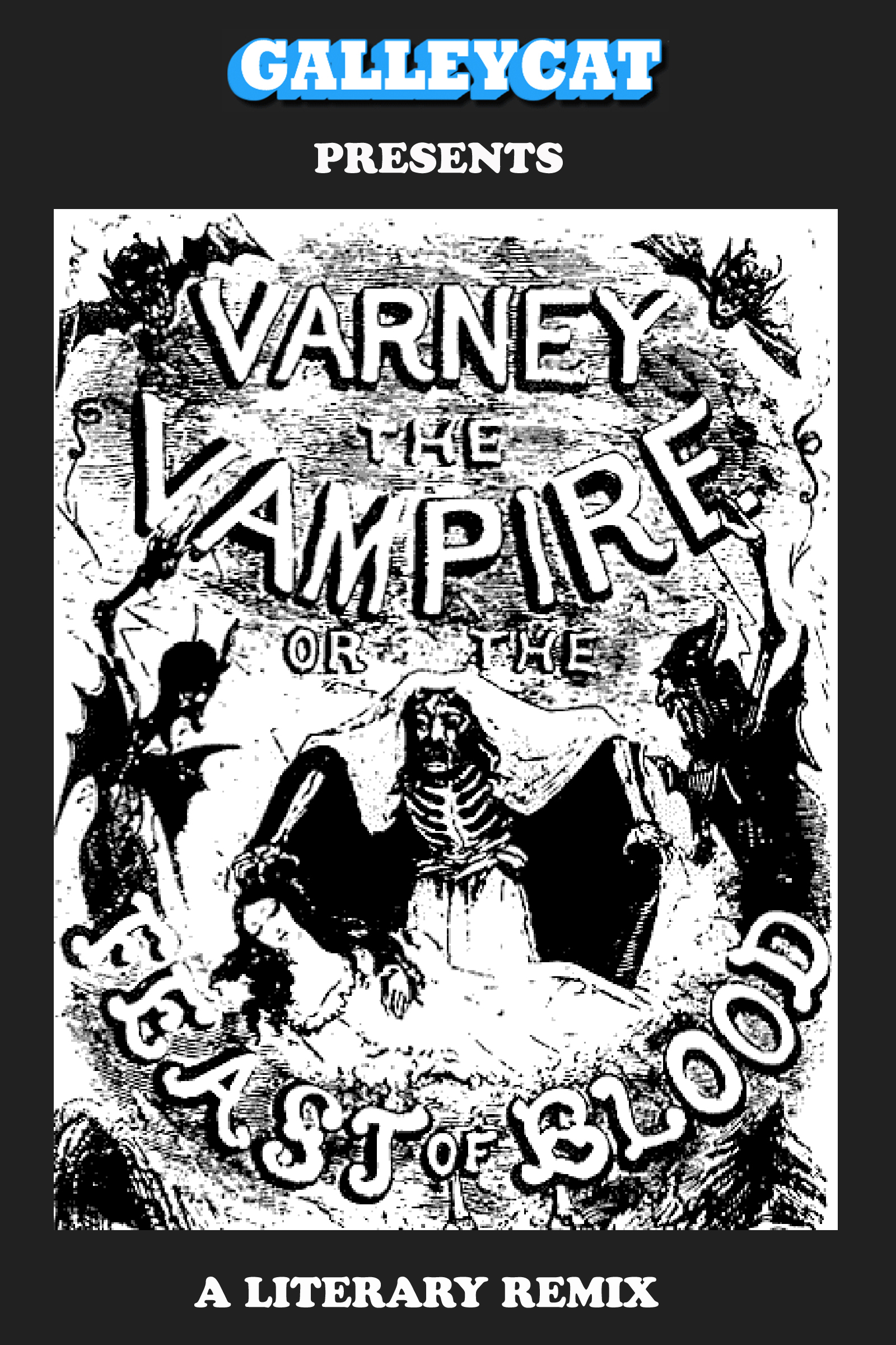 Varney the Vampire: A Literary Remix - Various Authors