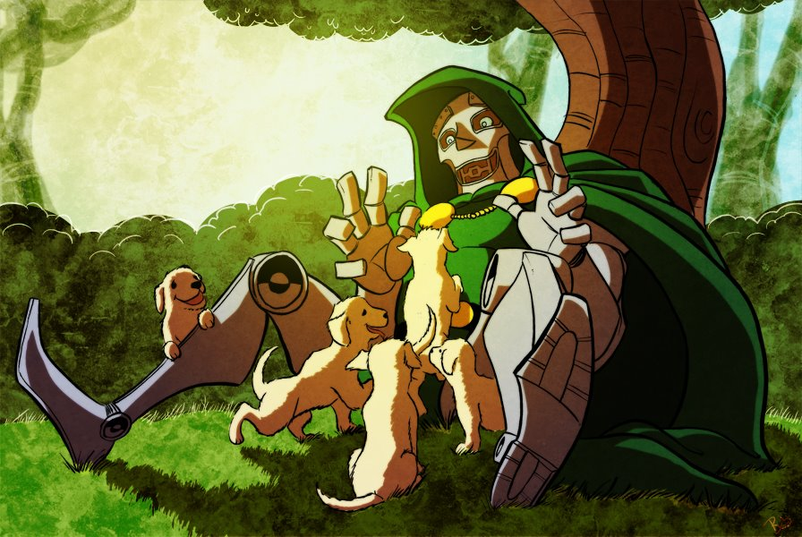 doom-loves-puppies