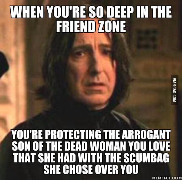 snape-friendzone